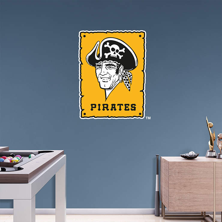 Pittsburgh Pirates Classic Logo Wall Decal Shop Fathead