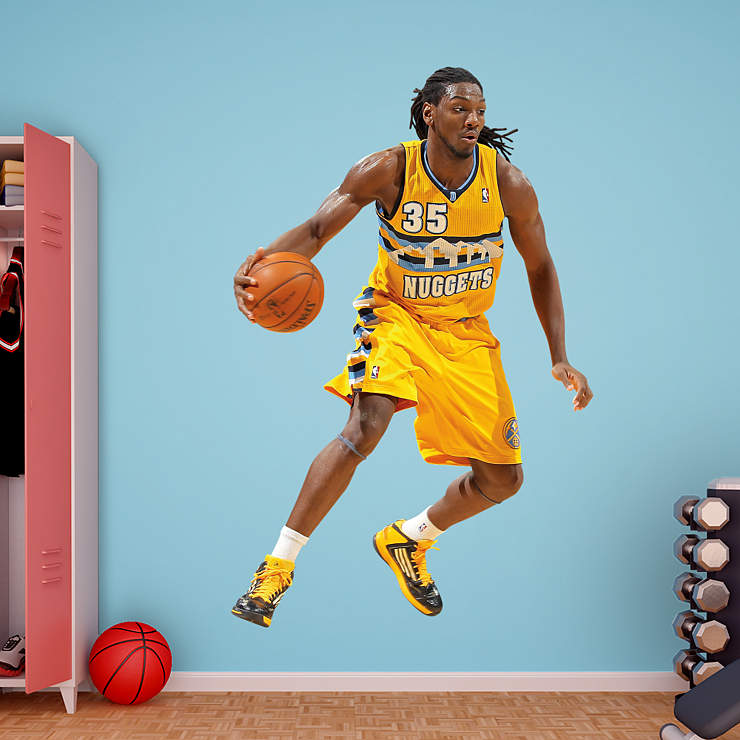 Life-Size Kenneth Faried Wall Decal