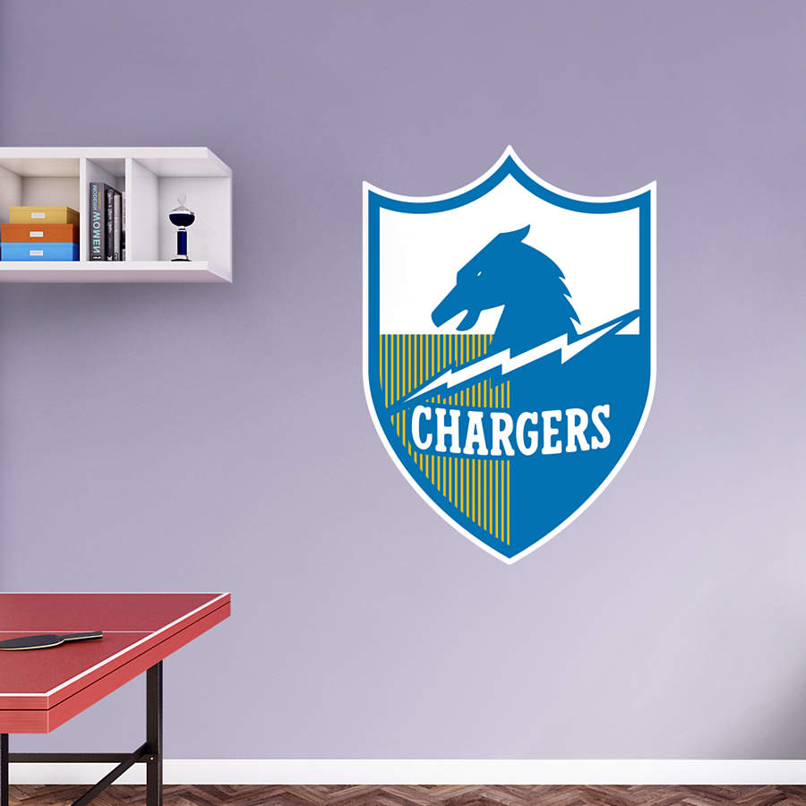 San Diego Chargers Decals: San Diego Chargers Original AFL Logo Wall Decal