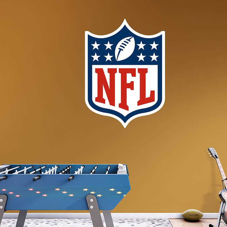 NFL Logo Wall Decal | Shop Fathead® for NFL Decor