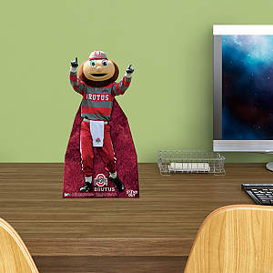 Brutus Buckeye Desktop Stand Out Standee