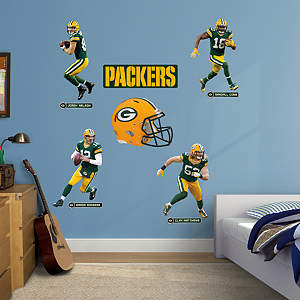 Green Bay Packers Power Pack Fathead Wall Decal