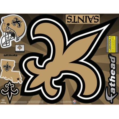 New Orleans Saints Street Grip Outdoor Decal