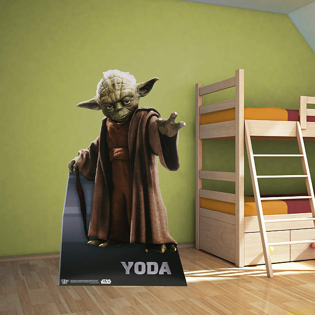 Life Size Yoda Stand Out Cut Out Shop Fathead 174 For Star