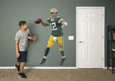 Fathead Wall Art life-size jared allen's air time fathead wall decal | shop bull