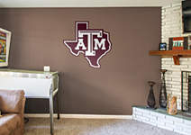 Texas a m aggies lone star logo wall decal shop fathead for Beaver stadium wall mural