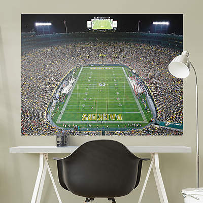 Shop nfl green bay packers at fathead for Bay view wall mural