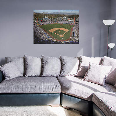 Los angeles dodgers alternate logo wall decal shop for Dodger stadium wall mural