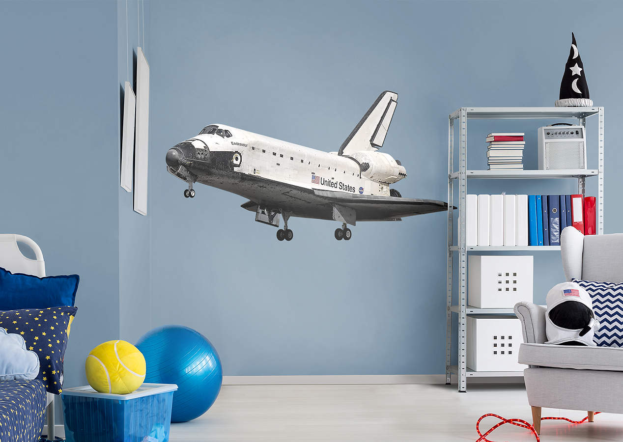 Space Shuttle Endeavor Wall Decal Shop Fathead 174 For