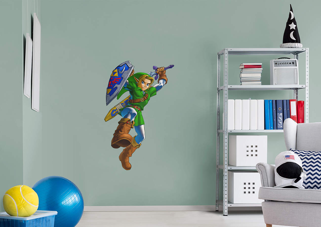 Link the legend of zelda wall decal shop fathead for Decoration zelda