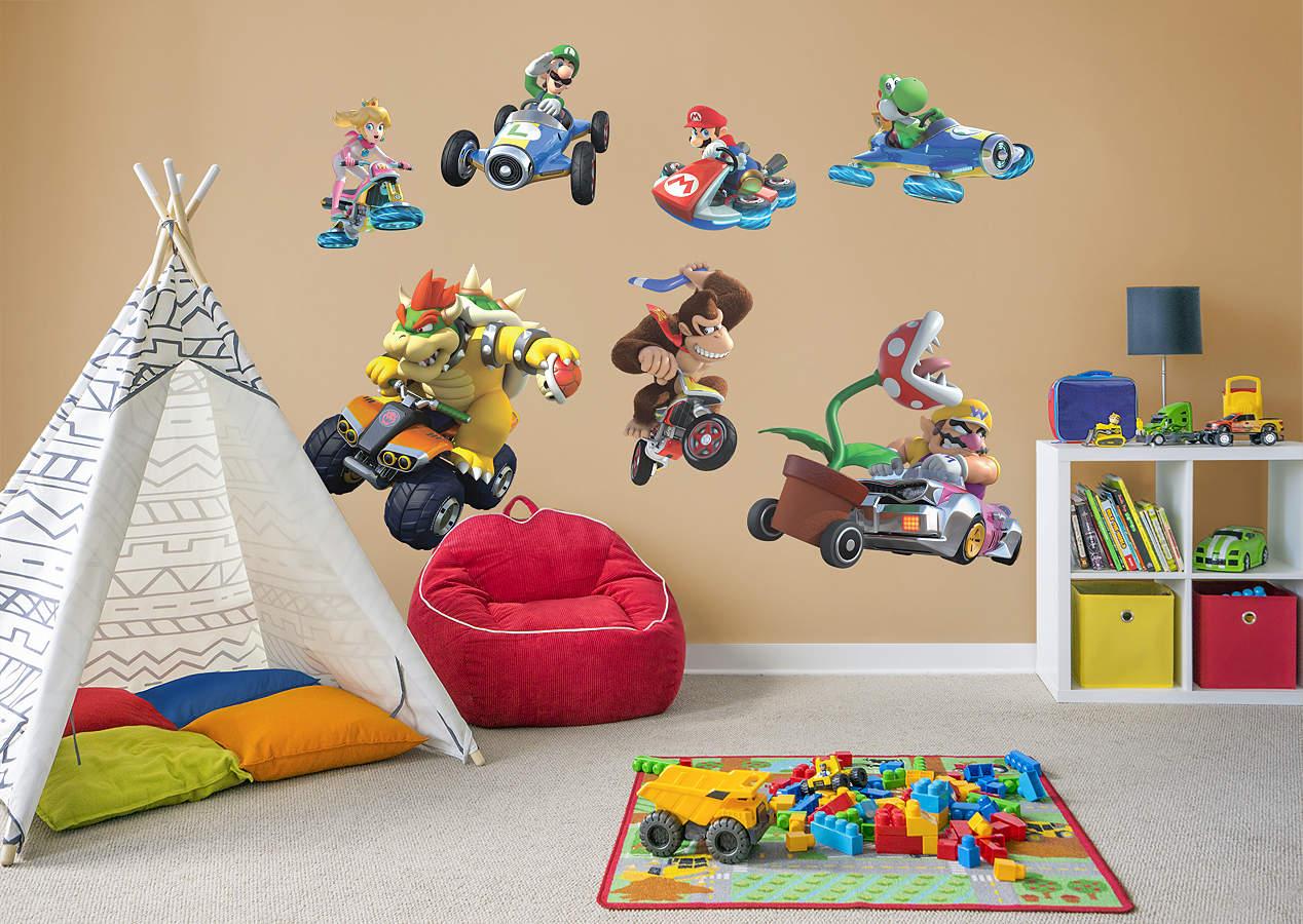 Mario Kart 8 Collection Wall Decal Shop Fathead 174 For