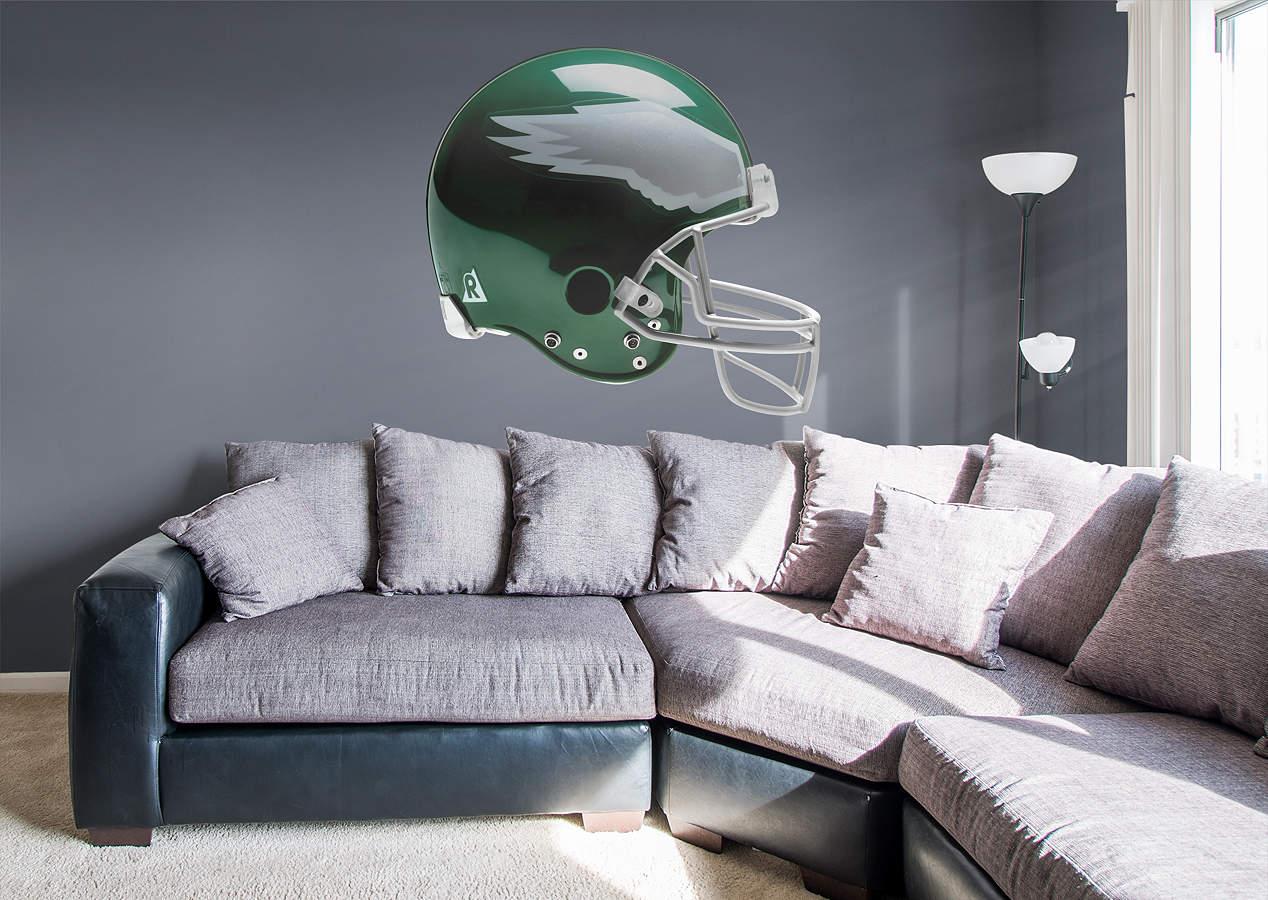 Philadelphia Eagles Bedroom Decor: Philadelphia Eagles Throwback Helmet Wall Decal