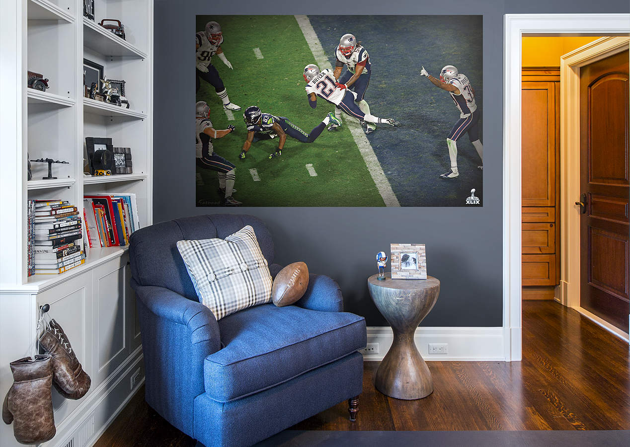 Malcolm Butler Super Bowl Xlix Int Mural Wall Decal Shop