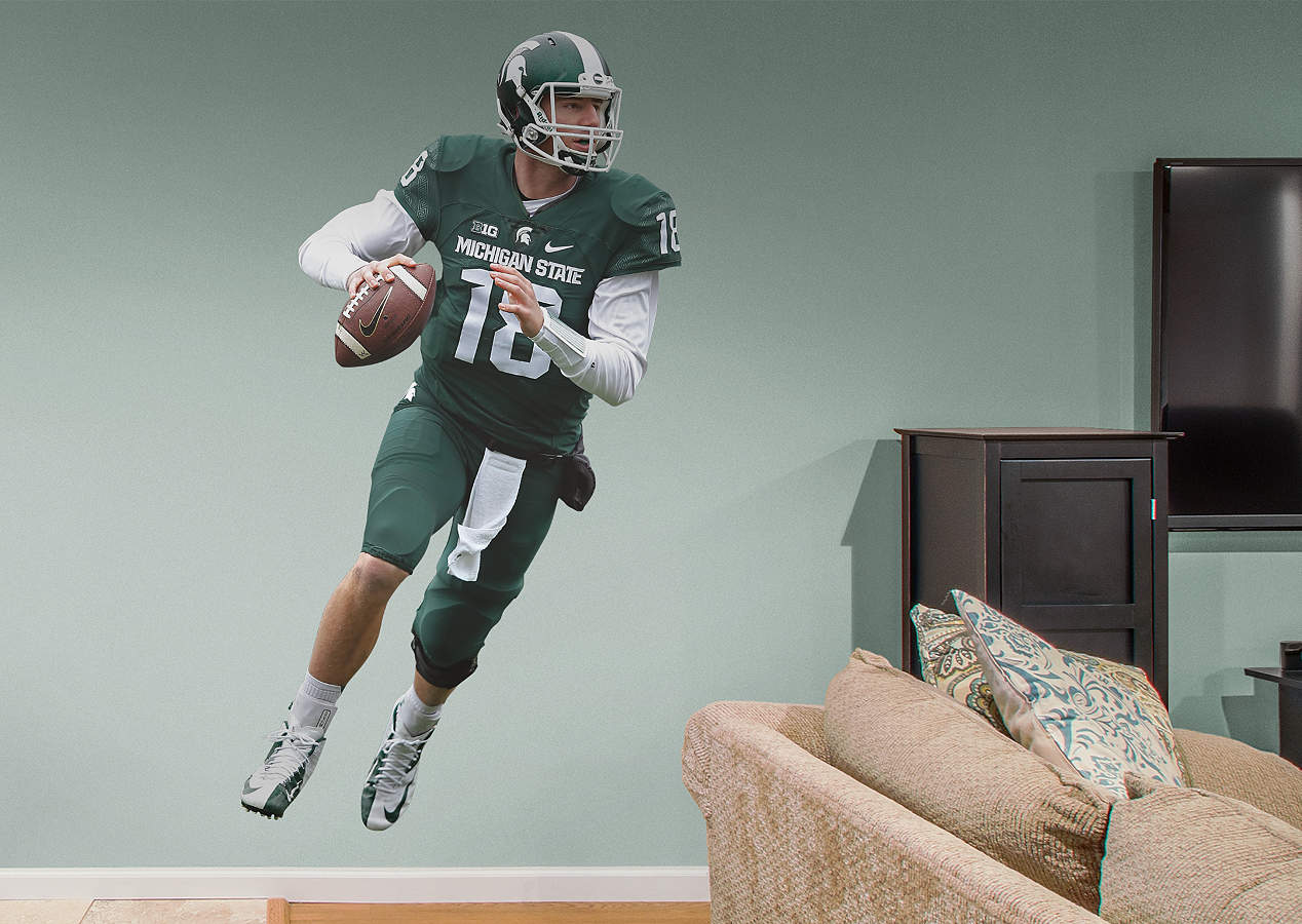 Life Size Connor Cook Msu Wall Decal Shop Fathead 174 For