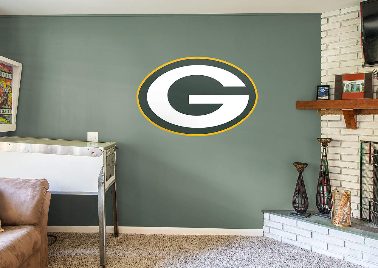 Green Bay Packers Logo Wall Decal Shop Fathead For