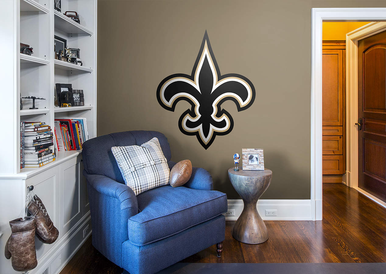 New Orleans Saints Logo Wall Decal Shop Fathead For New