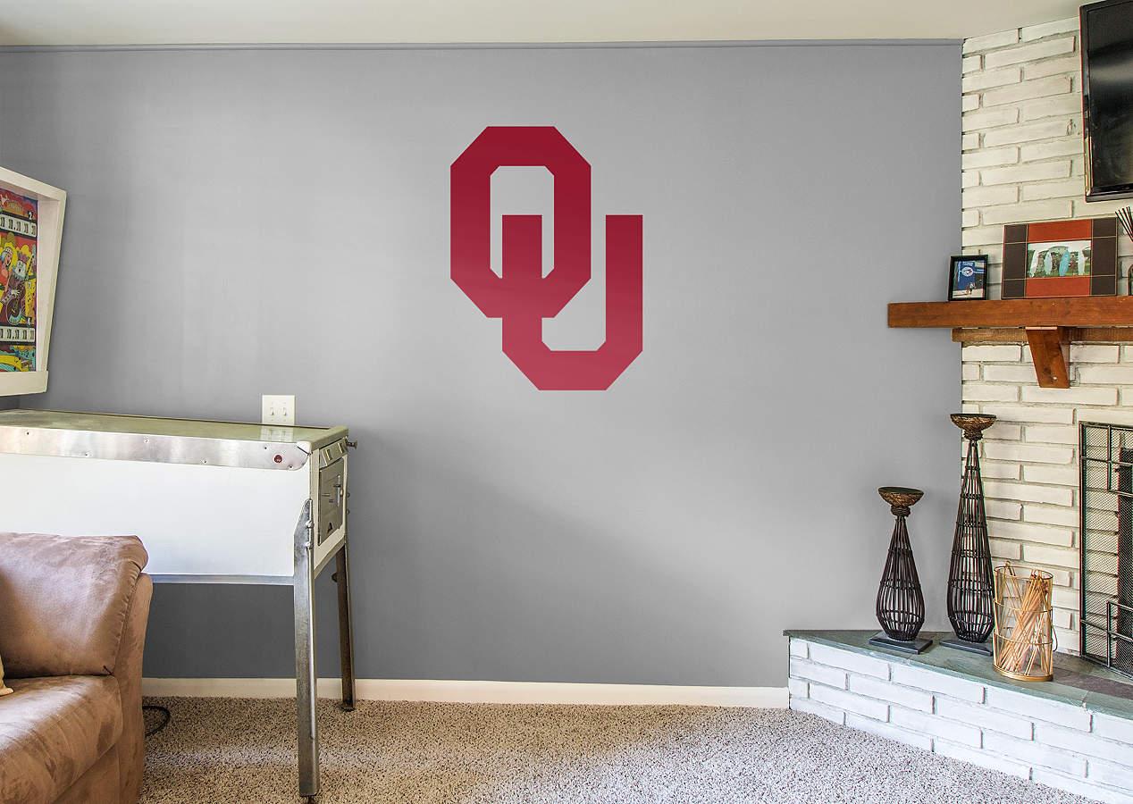 Oklahoma Sooners Logo Wall Decal