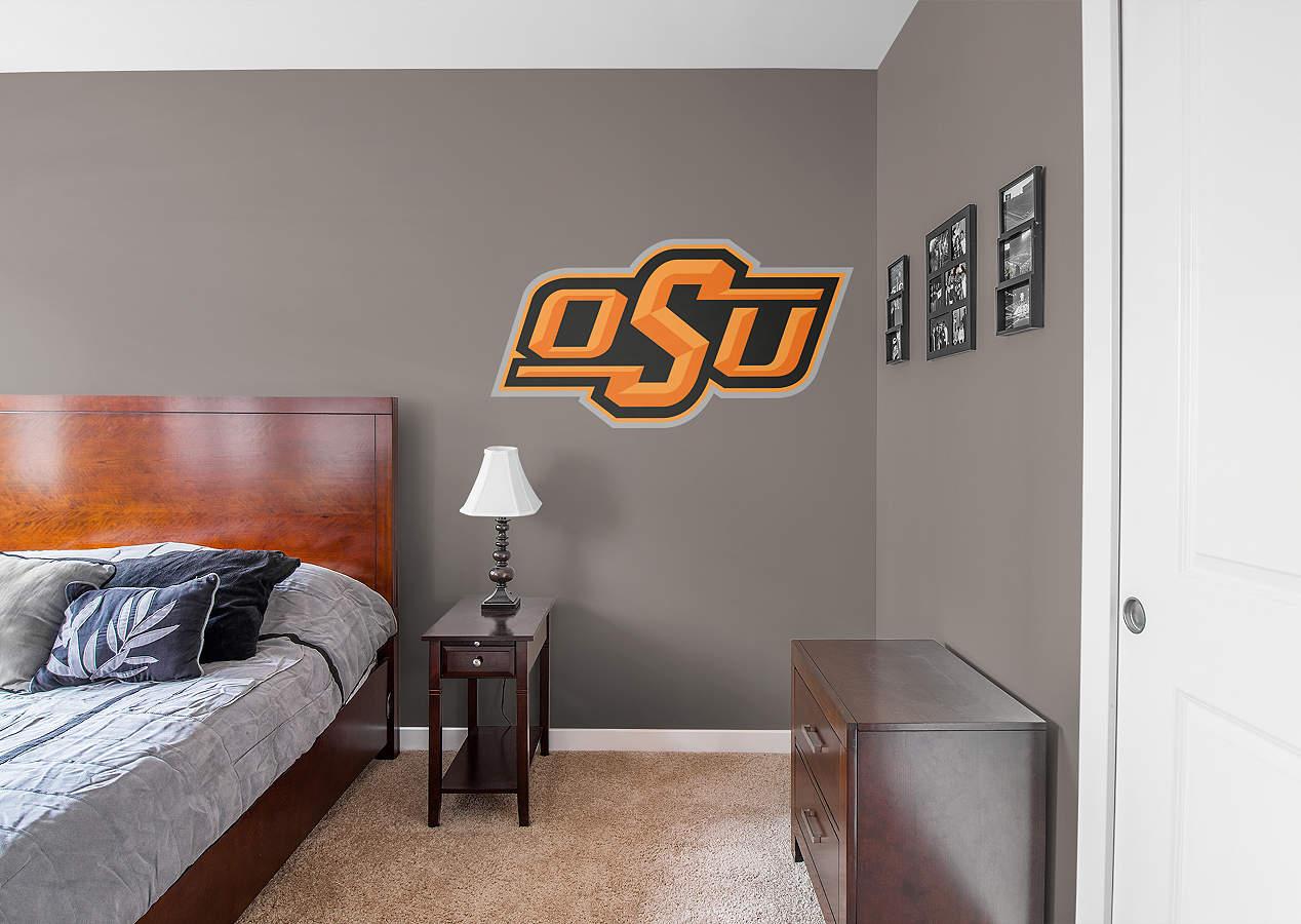 Oklahoma State Cowboys Logo Wall Decal