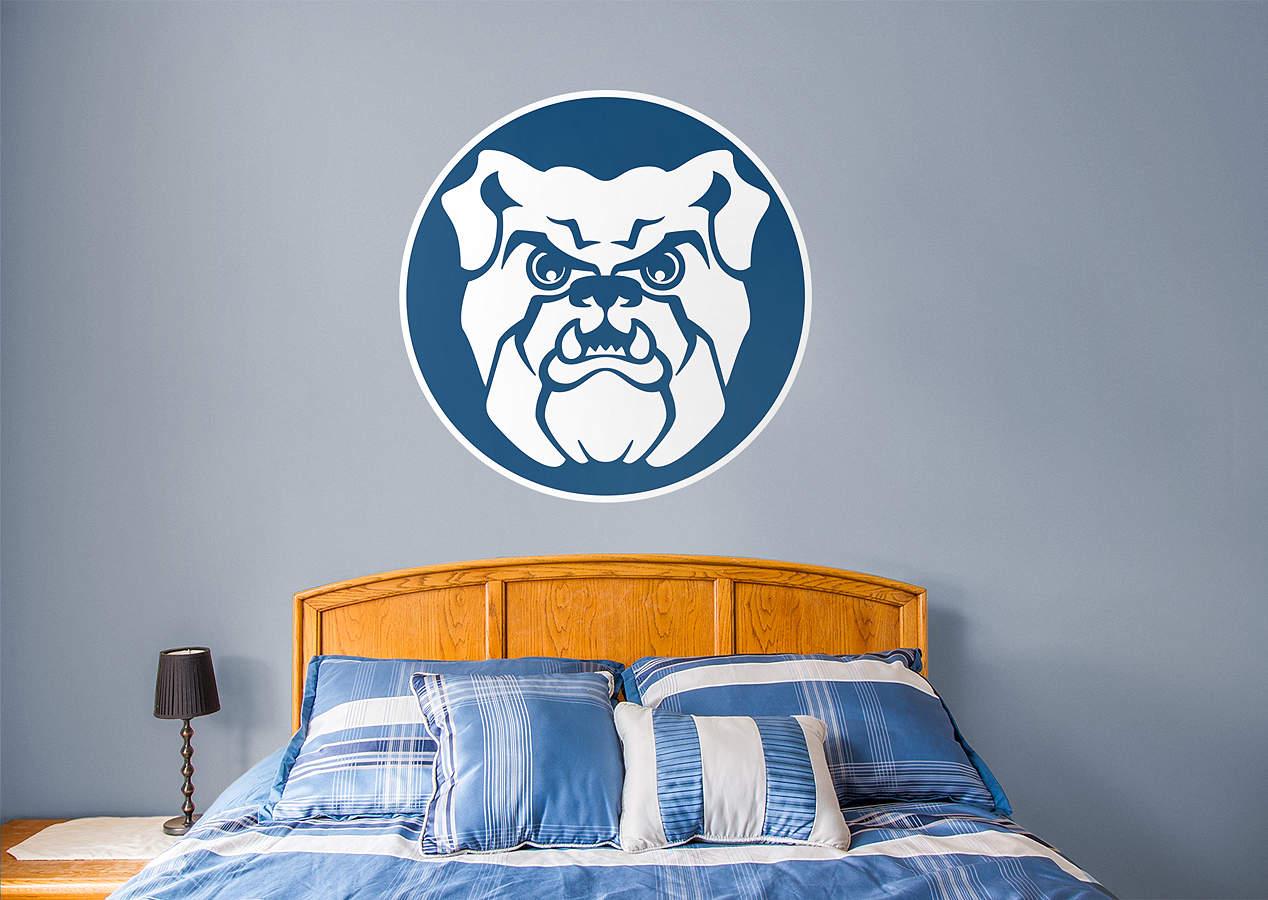 Butler bulldogs logo wall decal shop fathead for butler for Beaver stadium wall mural