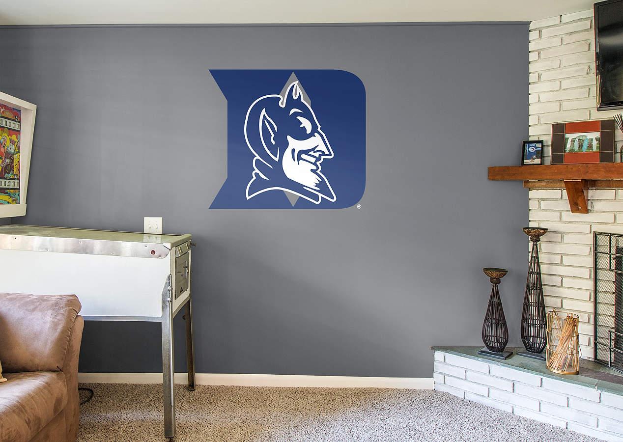 Duke Blue Devils Logo Wall Decal Shop Fathead 174 For Duke