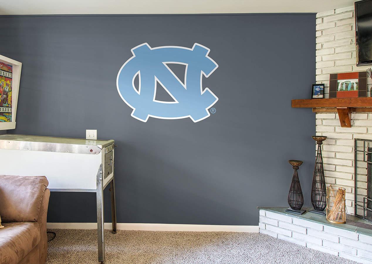 North Carolina Tar Heels Logo Wall Decal Shop Fathead For North Carolina Tar Heels Decor