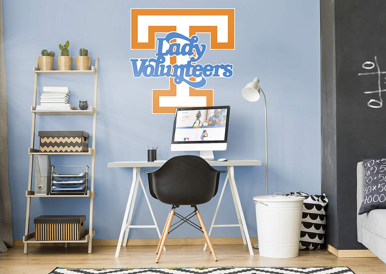 Tennessee Lady Vols Logo Wall Decal