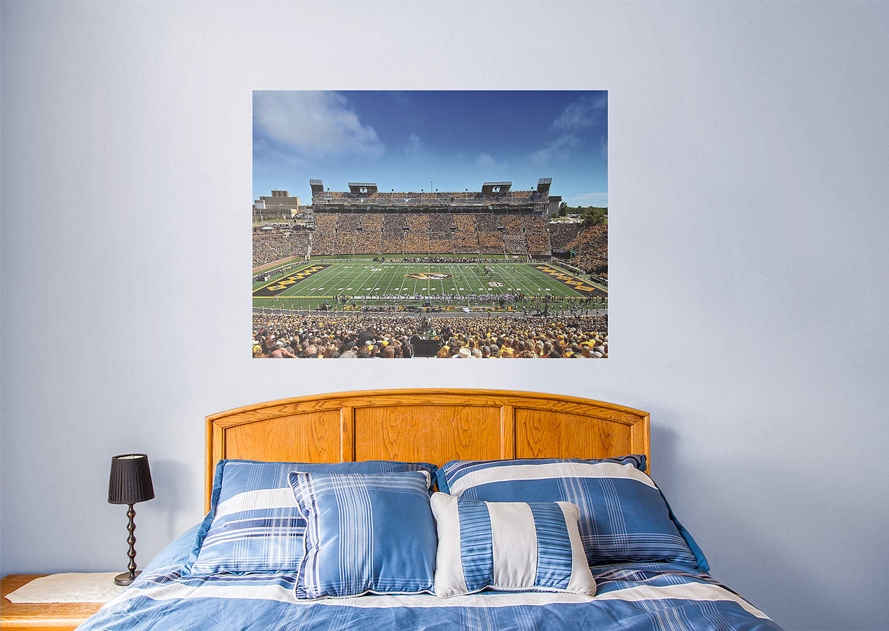 Missouri tigers faurot field mural wall decal shop for Beaver stadium wall mural
