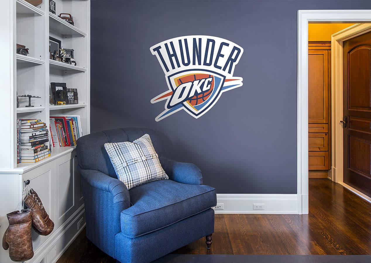 Http Www Fathead Com Nba Oklahoma City Thunder Oklahoma City Thunder Logo