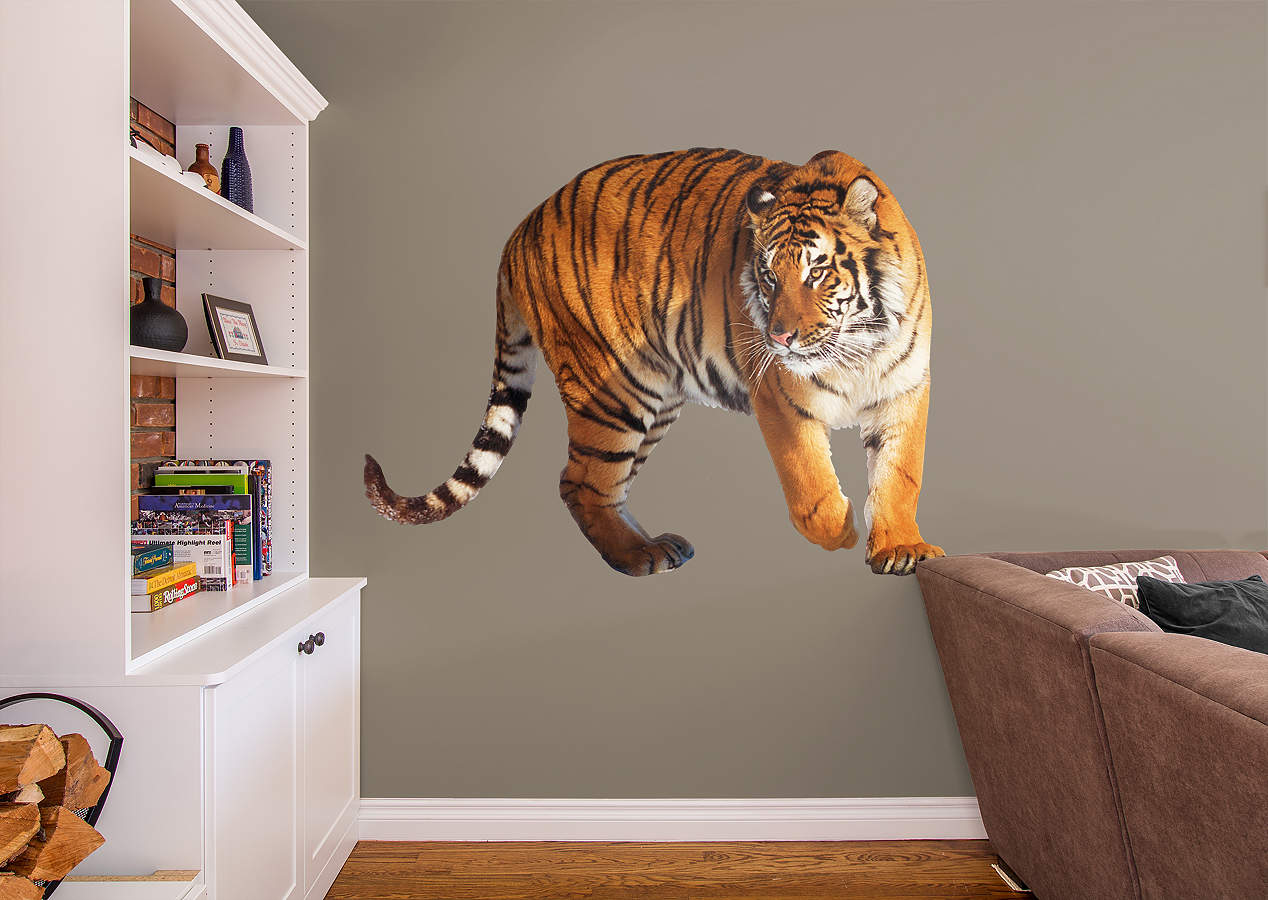 Tiger Wall Decal | Shop Fathead® for General Animal ...