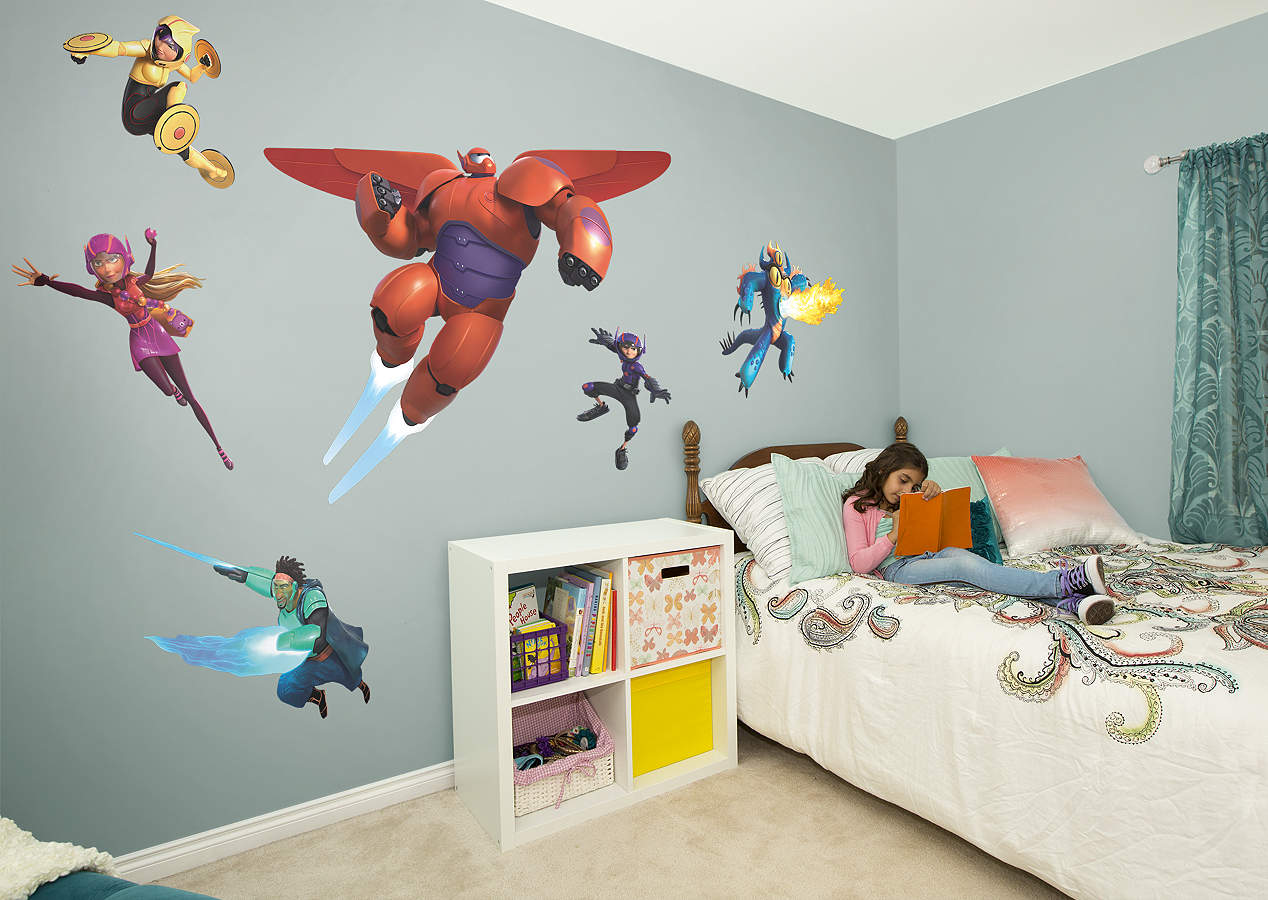 Big Hero 6 Collection Wall Decal Shop Fathead For Big
