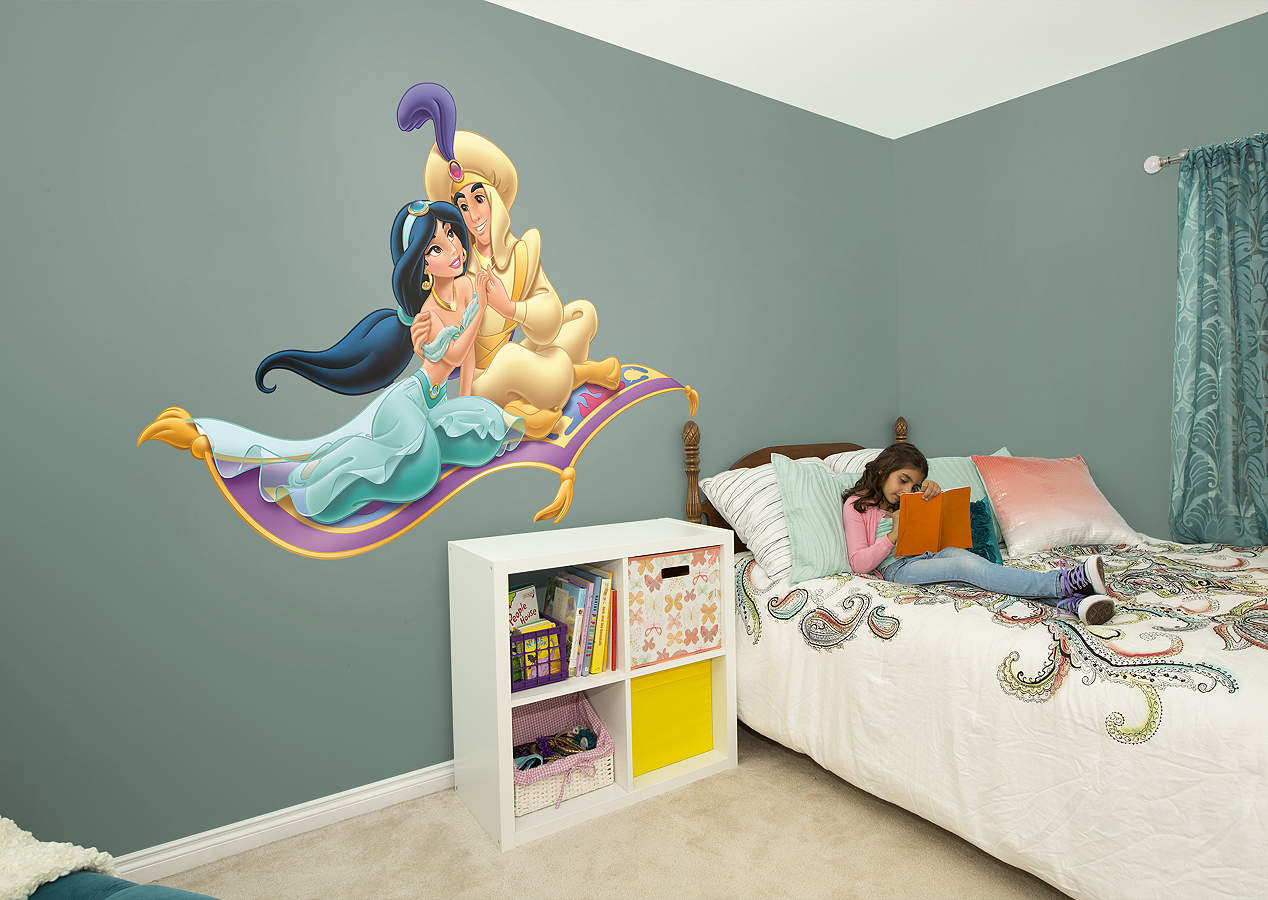 Aladdin And Jasmine Magic Carpet Wall Decal Shop Fathead