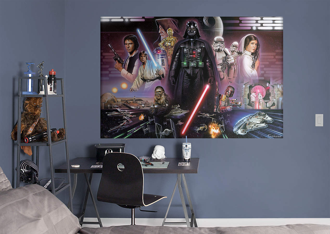 Star Wars™ Classic Mural Wall Decal