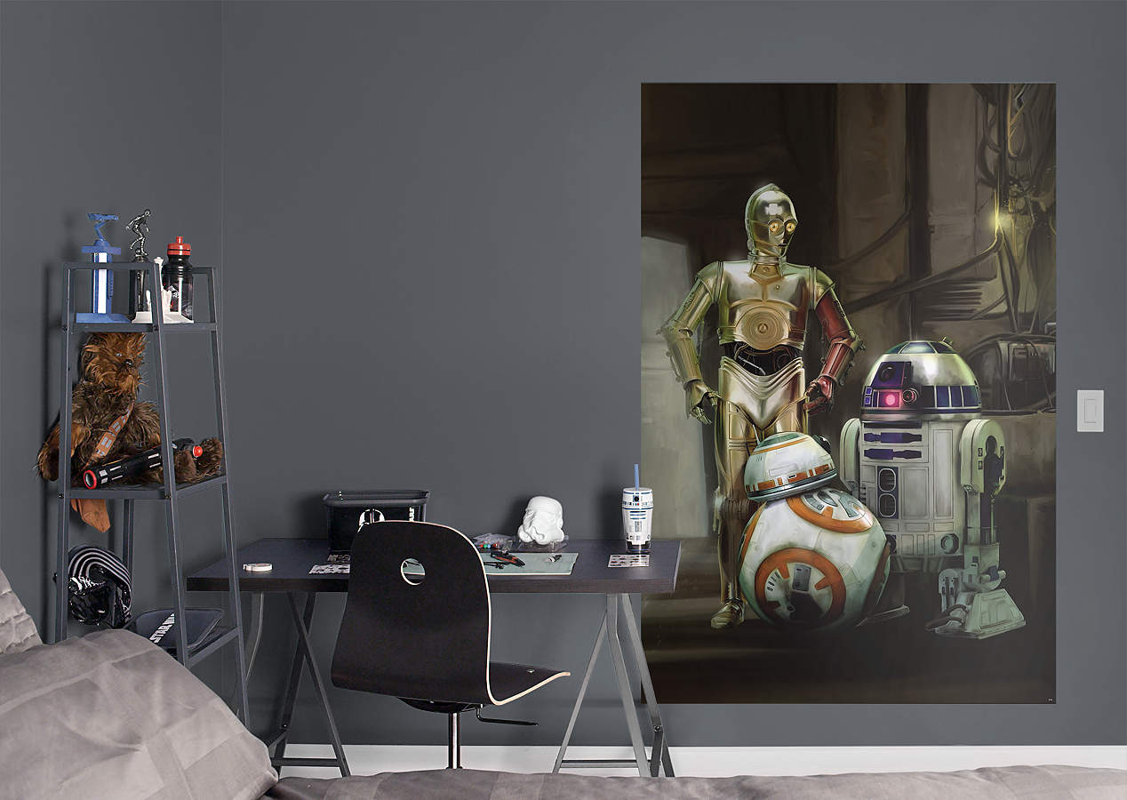 Droids Star Wars: The Force Awakens Mural Wall Decal