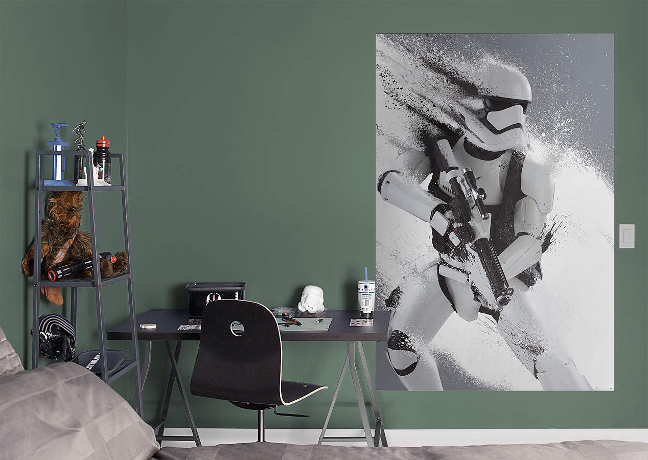Stormtrooper Blast Star Wars The Force Awakens Mural