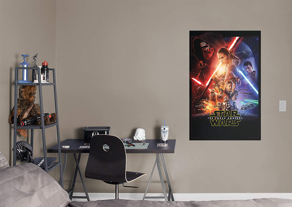 Star Wars: The Force Awakens Movie Poster Fathead