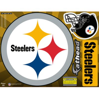 Pittsburgh Steelers Street Grip Outdoor Decal