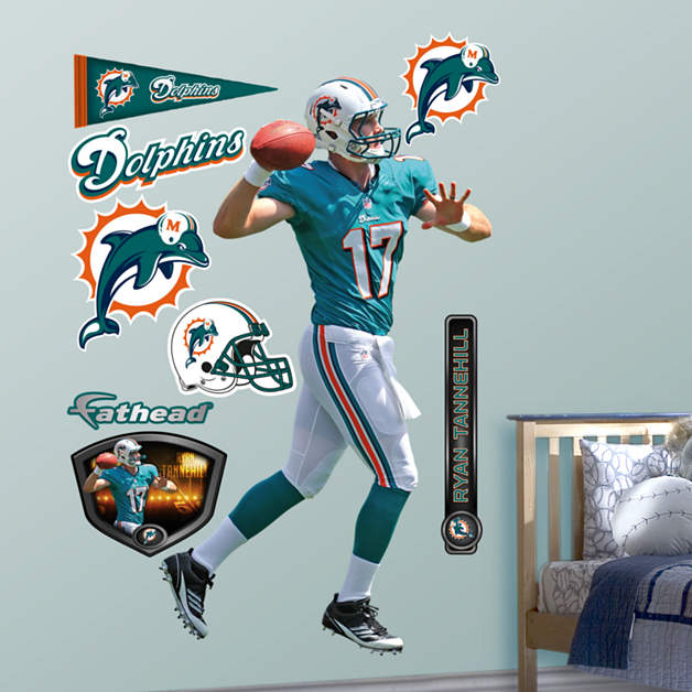 Life Size Ryan Tannehill Wall Decal Shop Fathead 174 For