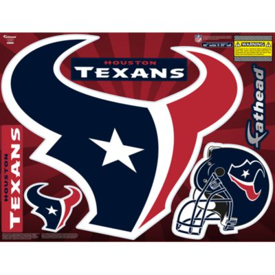 Houston Texans Street Grip Outdoor Decal