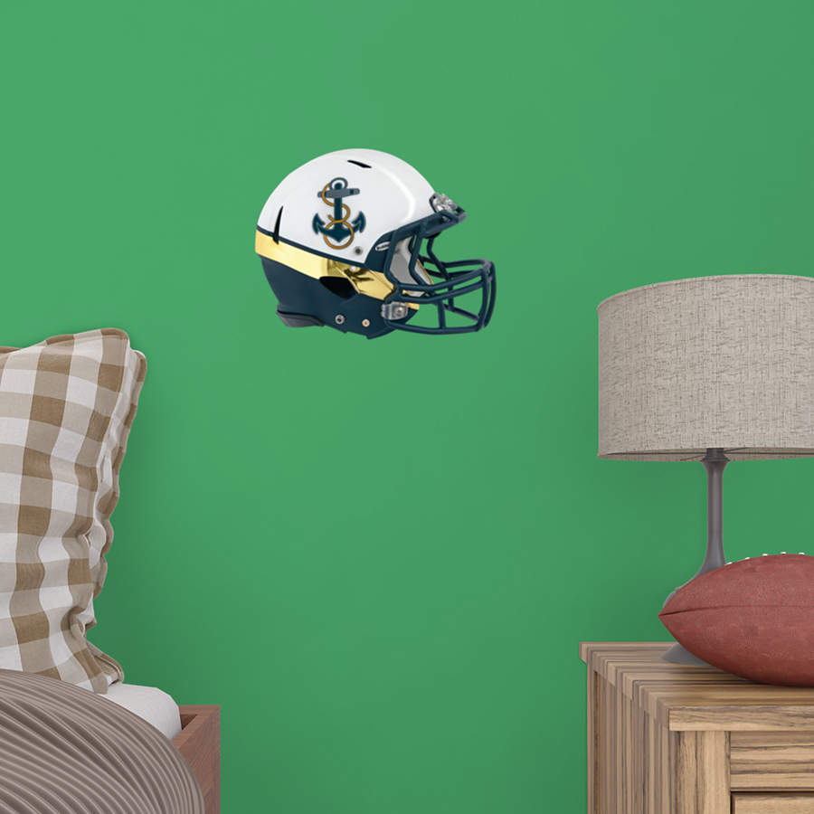Small U S Naval Academy Rivalry Helmet Teammate Decal