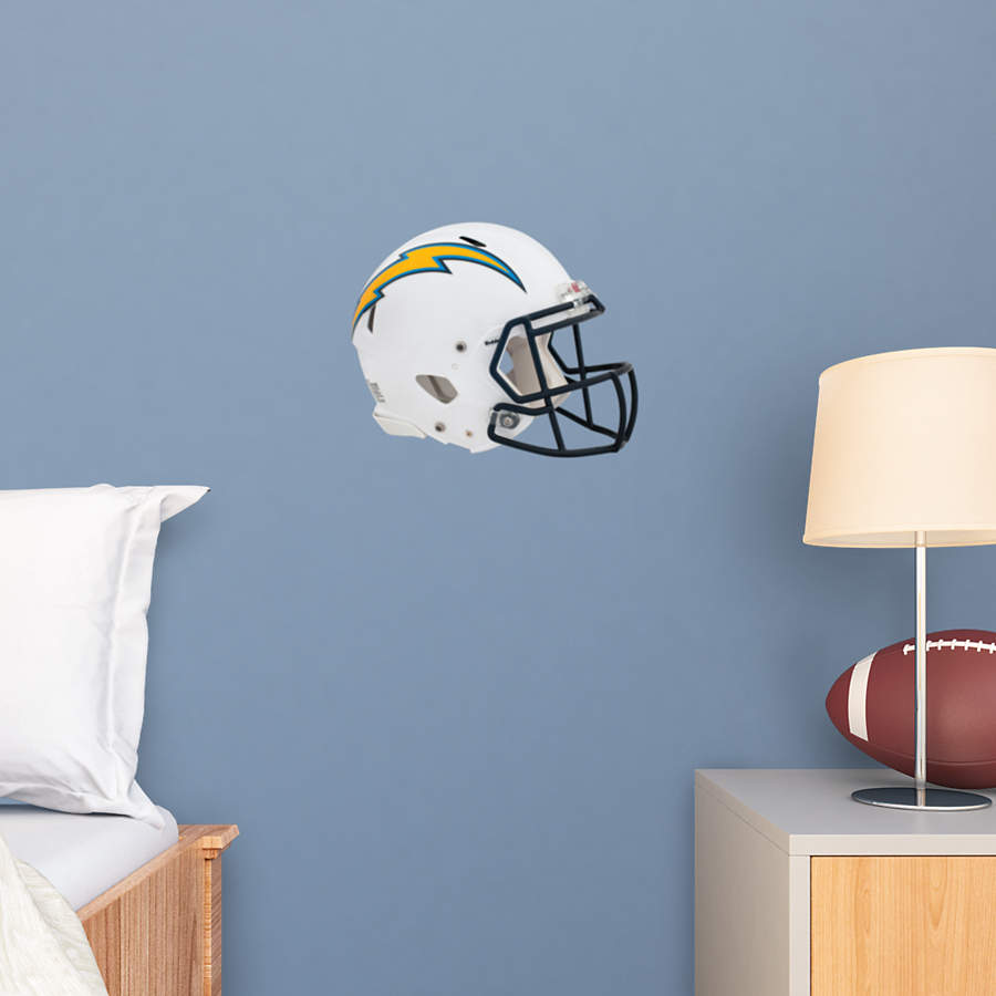 San Diego Chargers Helmet Decals: Small San Diego Chargers Helmet Teammate Decal