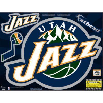 Utah Jazz Street Grip Outdoor Decal