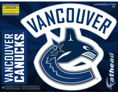 Vancouver Canucks Street Grip Outdoor Decal