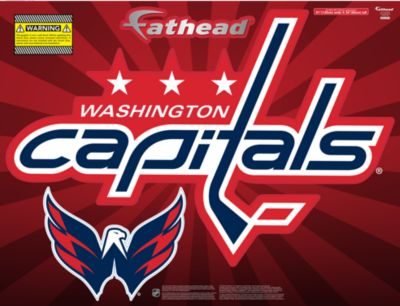 Washington Capitals Street Grip Outdoor Decal