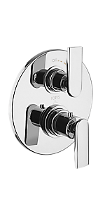 "½"" Thermostatic Trim With Volume Control 6069000PC"