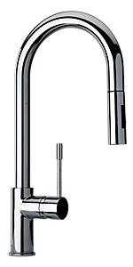 Pulldown Kitchen Modern, 2 Function Sprayer 78591LLPC