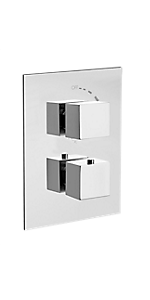 "1/2"" THERMOSTATIC TRIM WITH VOLUME CONTROL 84690SQPC"