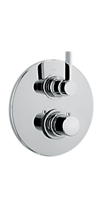 """1/2"""" Thermo 2 outlet, vol ctrl & diverter 9269100PC"""