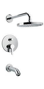 Pressure Balanced Tub and Shower 9279700PC