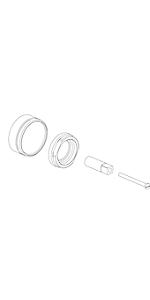 Extention kit for diverter valve EX42500PC