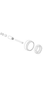 Extention kit for diverter valve EX42585PC